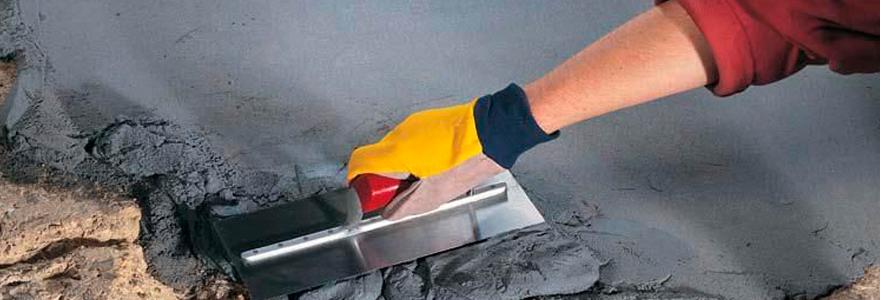 mortier de réparation sol